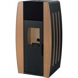 Salamandra a Pellets Pine Collection 10 kW - Porta de Chapa Solzaima