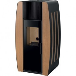 Salamandra a Pellets Pine Collection - 8 kW - Porta de Vidro Solzaima