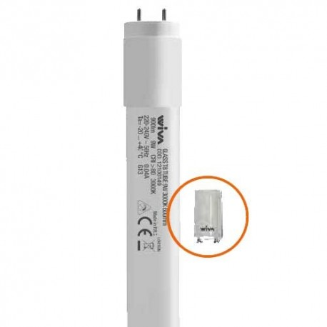 Lâmpada WIVA Led T8 600MM 9W 3000K 12100149