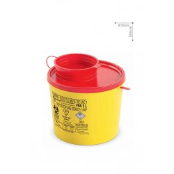Recipiente desechable 5Lts amarillo PBS