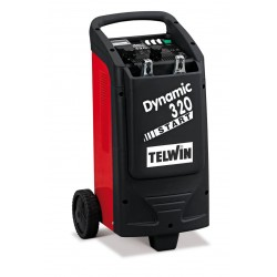 Carregador de Bateria TELWIN DYNAMIC 320 START 230V 12-24V
